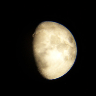 The Moon on 7/24/07